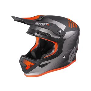 FURIOUS - TRUST - BLACK GREY NEON ORANGE MATT