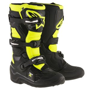TECH 7S - BLACK YELLOW FLUO ENFANT