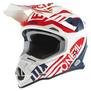 2 SERIES - SPYDE 2.0 - WHITE BLUE RED MATT