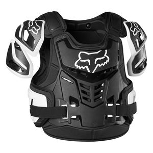 RAPTOR VEST - BLACK WHITE