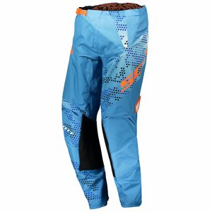 350 RACE JUNIOR - AZUL NARANJA -