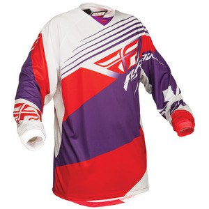 Kinetic Jersey violeta/rojo/blanco