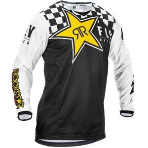 KINETIC K120 ROCKSTAR BLACK WHITE YELLOW