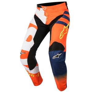 RACER BRAAP ORANGE FLUO DARK BLUE WHITE NIÑO 2018