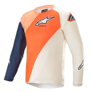 YOUTH RACER - BLAZE - ORANGE DARK BLUE