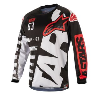 RACER BRAAP BLACK WHITE RED NIÑO 2018