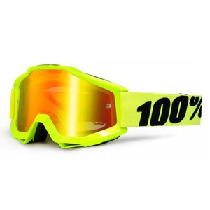 ACCURI YOUTH - FLUO YELLOW IRIDIUM LENS