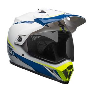 MX-9 ADVENTURE MIPS TORCH BLANCO/AZUL/AMARILLO