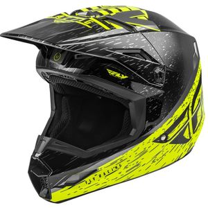 KINETIC K120 HI-VIS GREY BLACK NIÑO