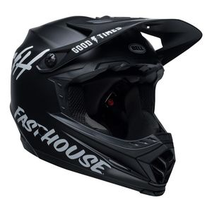 MOTO-9 MIPS Fasthouse Black/White Mate