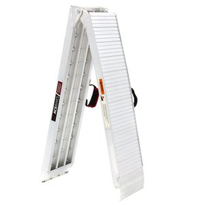 Foldable ramp heavy-duty with handle