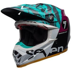 MOTO-9 FLEX SEVEN ZONE BLACK/AQUA