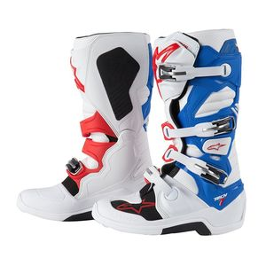TECH 7 WHITE/BLUE/RED