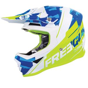XP4 - HERO - BLUE NEON YELLOW GLOSSY