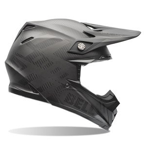 MOTO-9 CARBON FLEX - MATTE SYNDROME BLACK