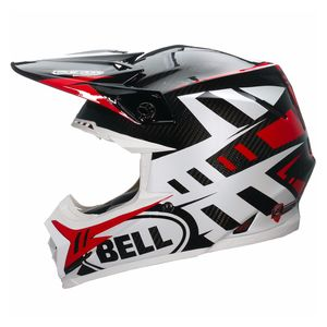 MOTO-9 CARBON FLEX - SYNDROME RED