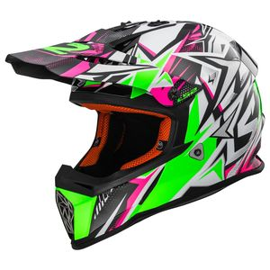 MX437 - FAST  STRONG WHITE GREEN PINK
