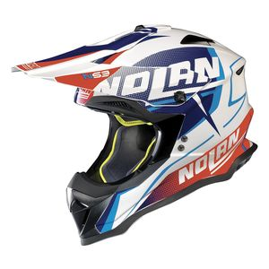 N53 SIDEWINDER METAL WHITE BLUE RED