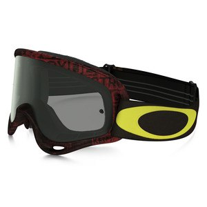 O FRAME MX  - DISTRESS TAGLINE RED YELLOW LENS DARK GREY
