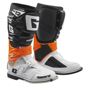 SG12 ORANGE BLACK WHITE