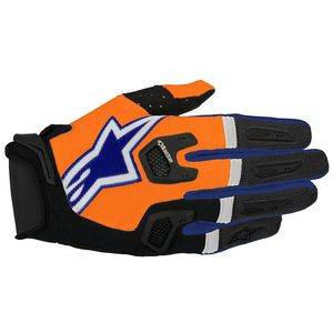 RACEFEND ORANGE FLUO DARK BLUE WHITE