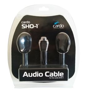 audio con doble auricular (32 mm diám.) para Scala Ridedr SHO-1