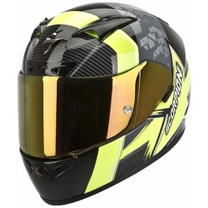 EXO-710 AIR - CRYSTAL NEGRO/AMARILLO