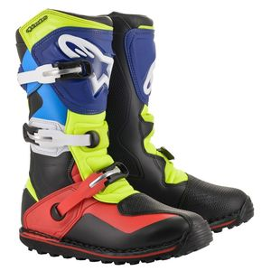 TECH-T BLACK RED BLUE YELLOW FLUO