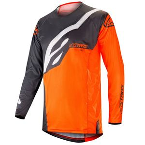 TECHSTAR FACTORY ANTHRACITE ORANGE FLUO