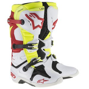 TECH 10 WHITE RED YELLOW FLUO