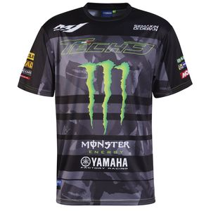 ALL OVER - TECH3 MONSTER ENERGY - BLACK GREEN