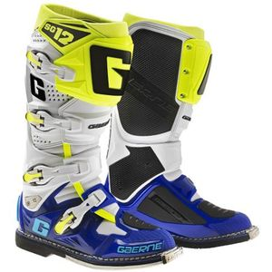 SG12 WHITE BLUE YELLOW FLUO