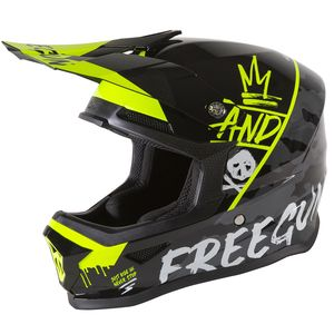 XP4 KID - CAMO NEON YELLOW GLOSSY