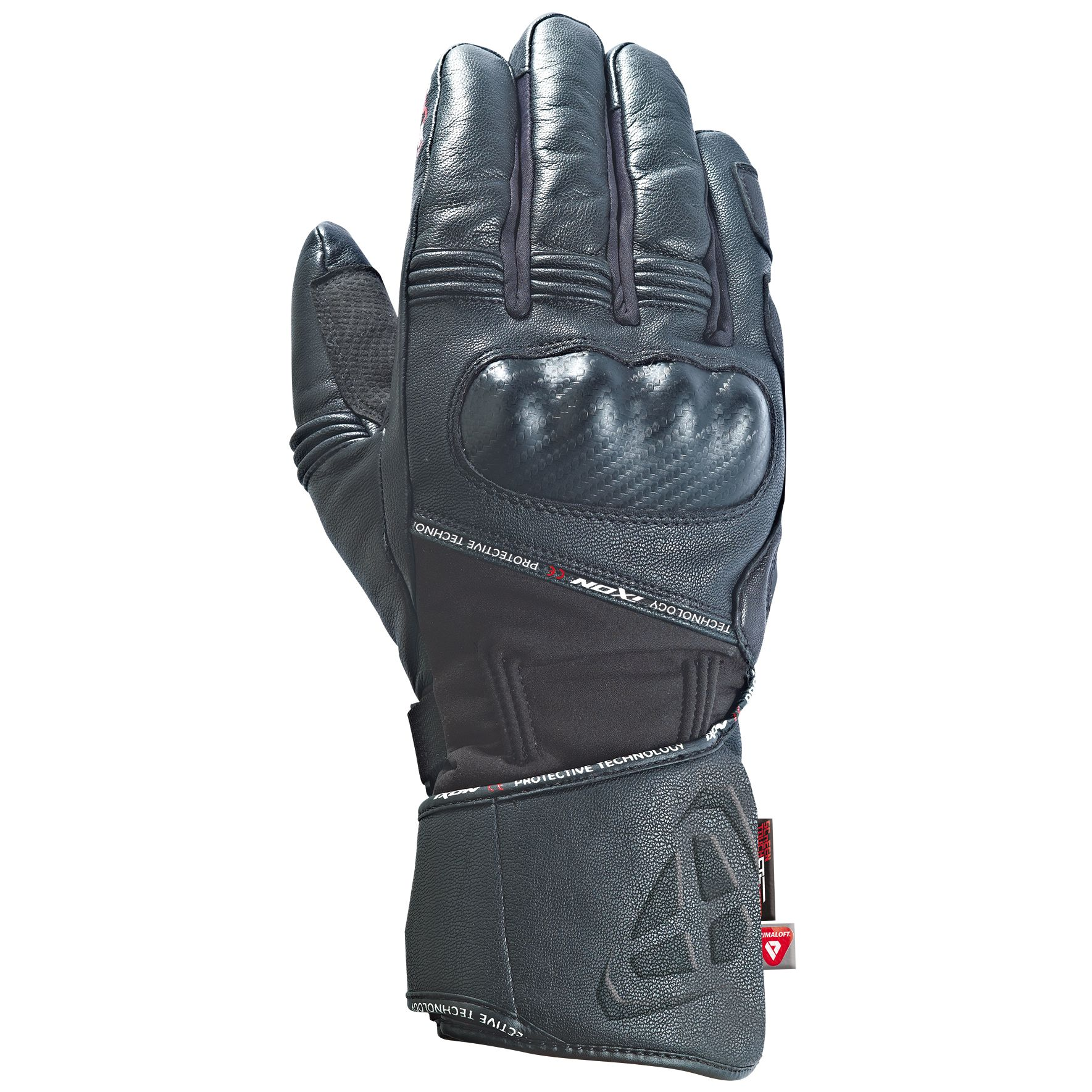 High Top Textil Guantes, Color Gris, Talla 38