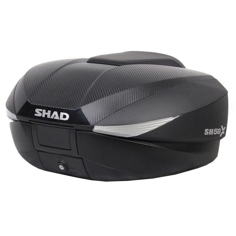 Maleta para moto Expandable SH58X de SHAD | Club del