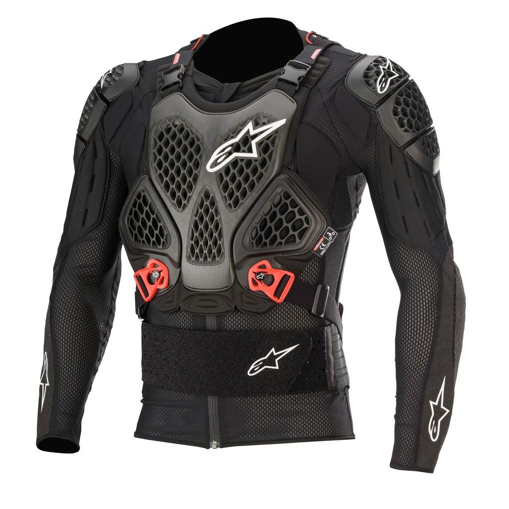 Chaleco Alpinestars BIONIC TECH V2 - BLACK RED 2021