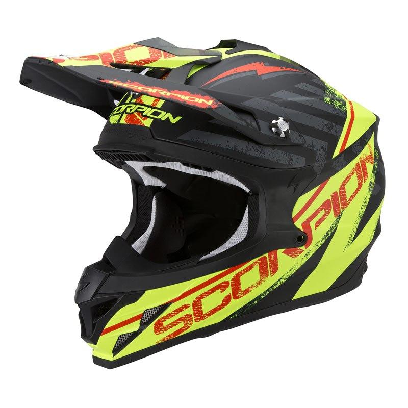 Casco de motocross scorpion exo vx 15 evo air gamma for Evo horario oficinas