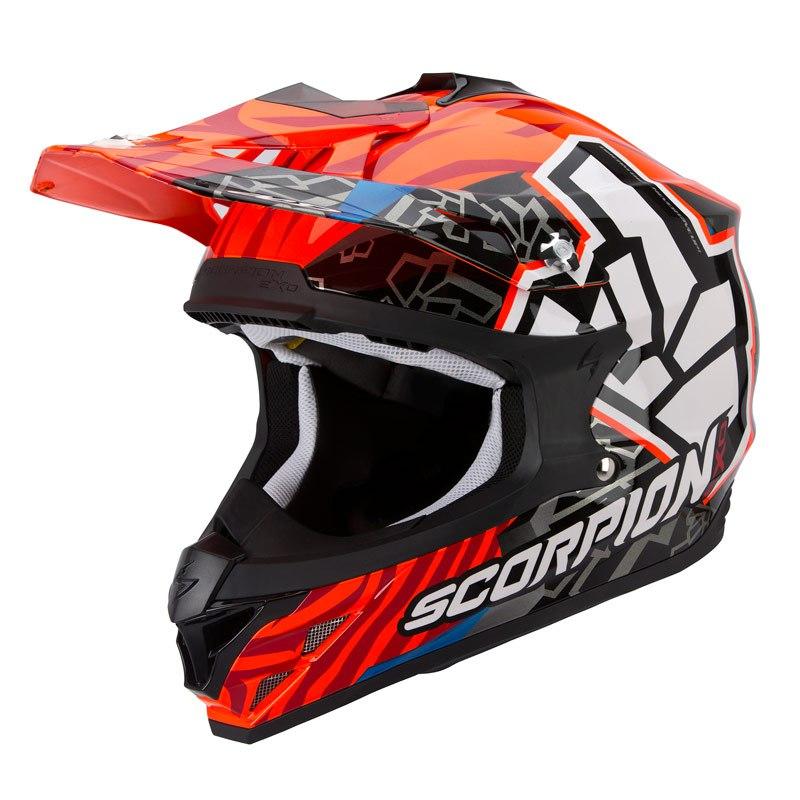 Casco de motocross scorpion exo vx 15 evo air rok for Horario oficina evo